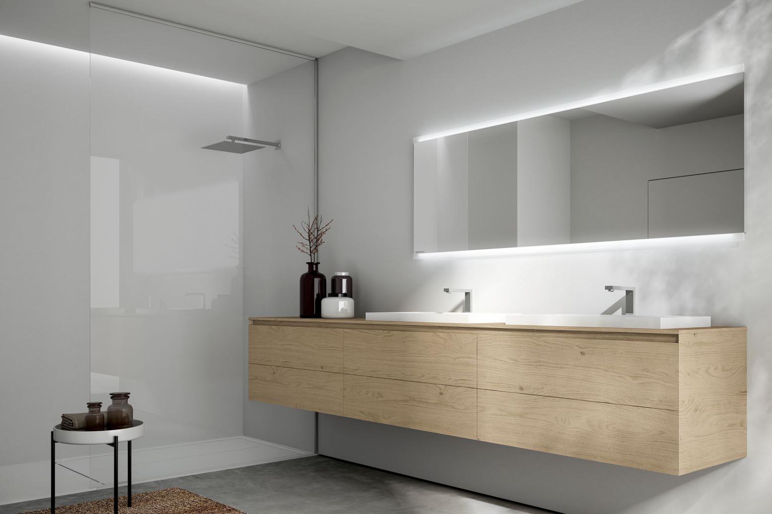 Le meuble sur mesure par excellence en bois pour la salle de bain