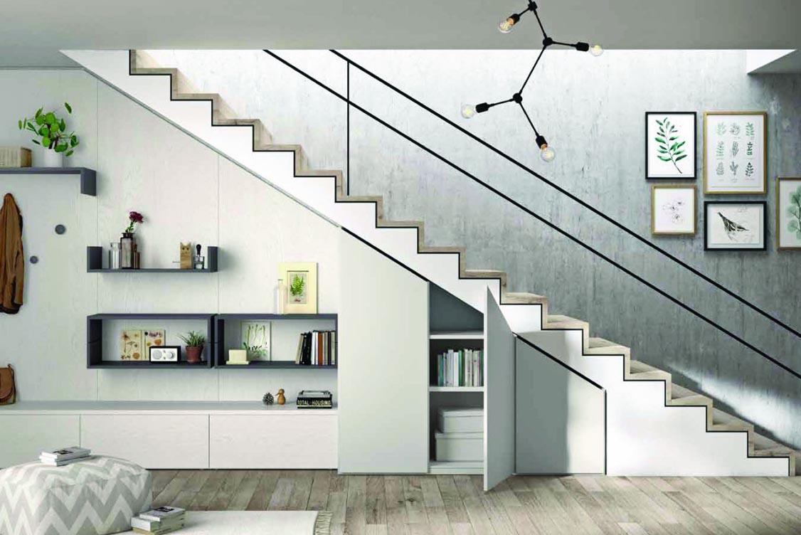 Meuble sous escalier complet sur mesure