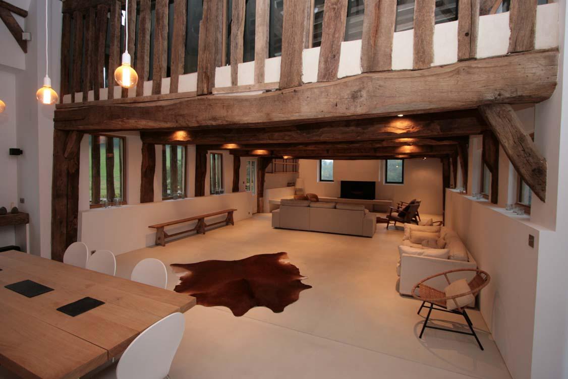 Rénovation d'un intérieur ancien, dans son style d'origine