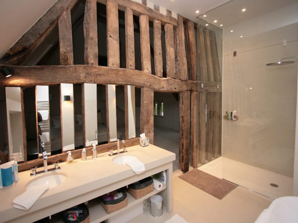 salle-de-bain-double-vasque-atypique-poutres-douche-italienne